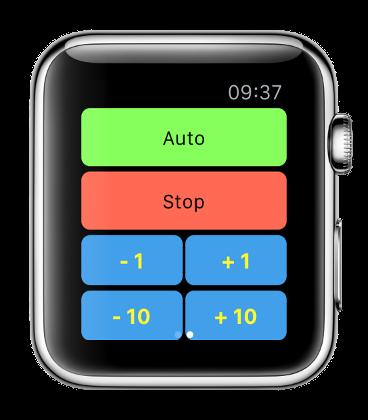 Découvrez l'écran de la apple watch